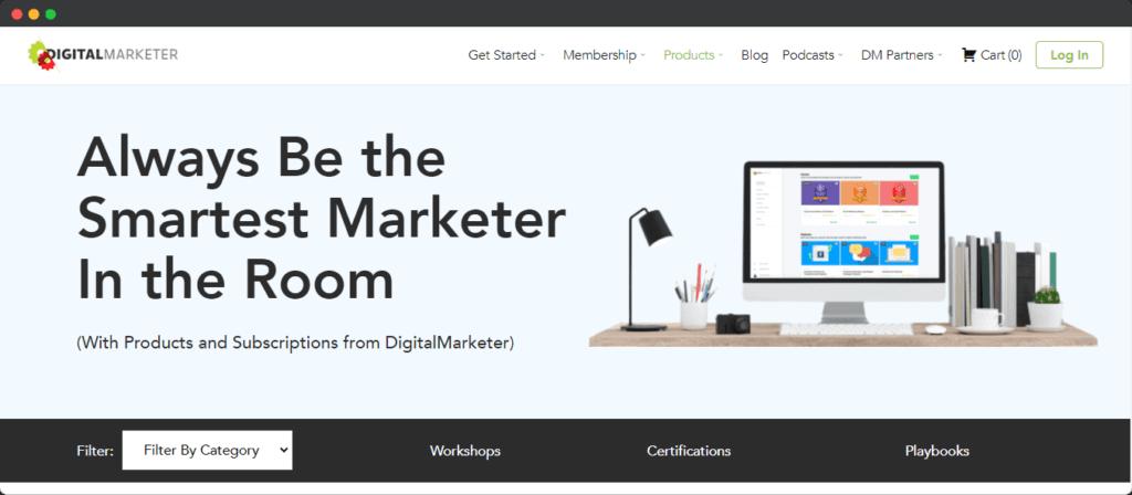 DigitalMarketer appreciated marketing angle for advertising example