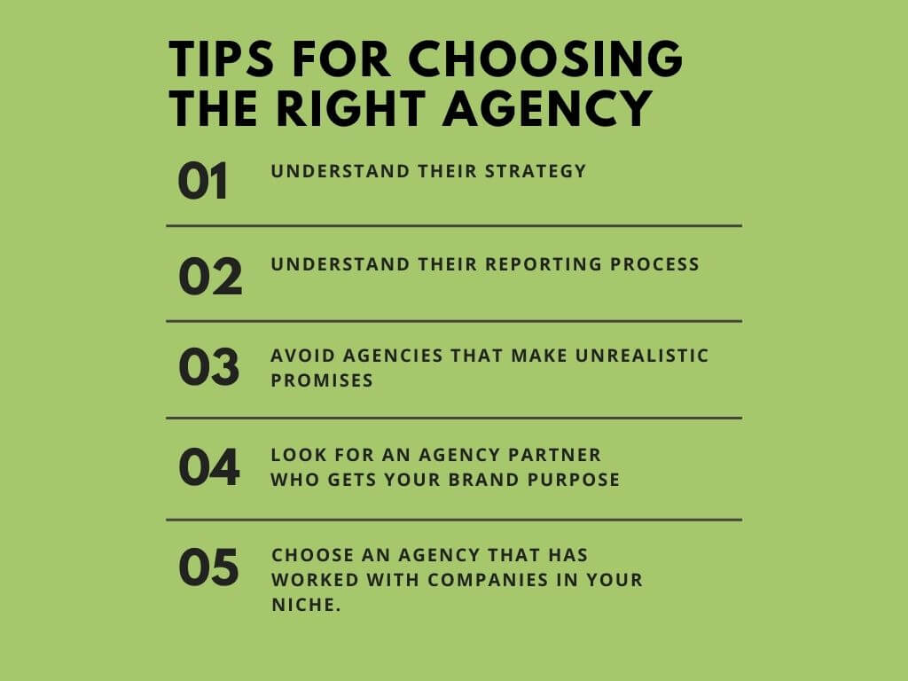 Tips to choose the right marketing agency