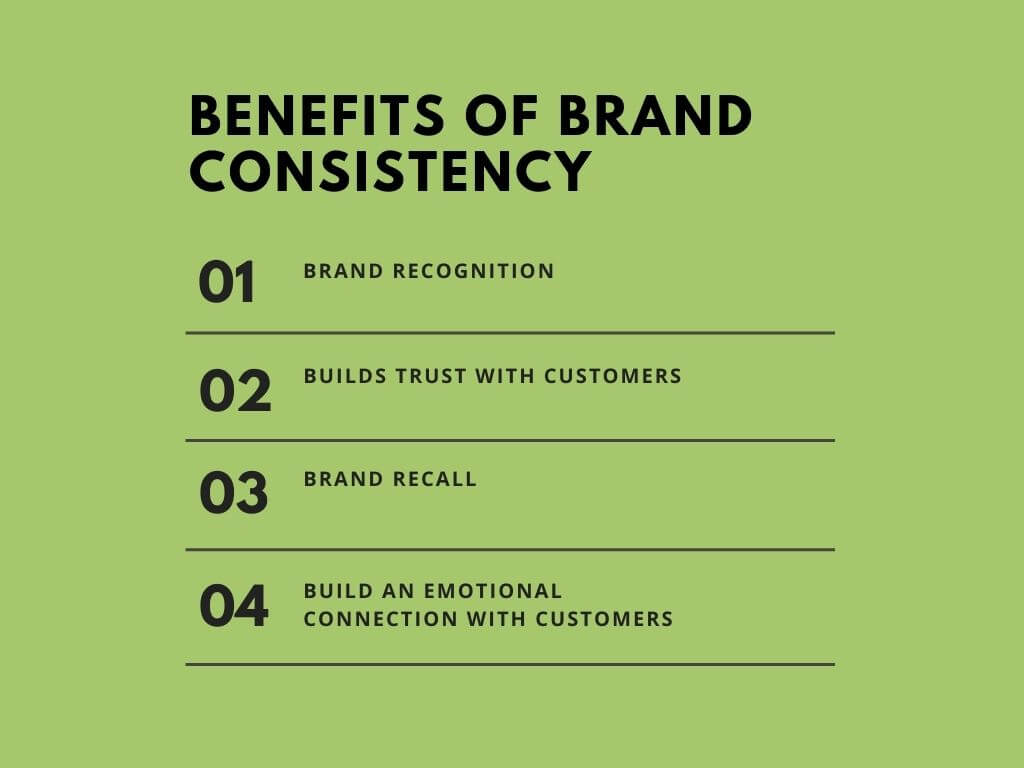 Benefit of brand consistency
