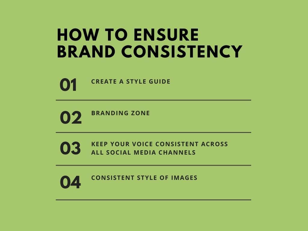 How to maintain brand consistency tips