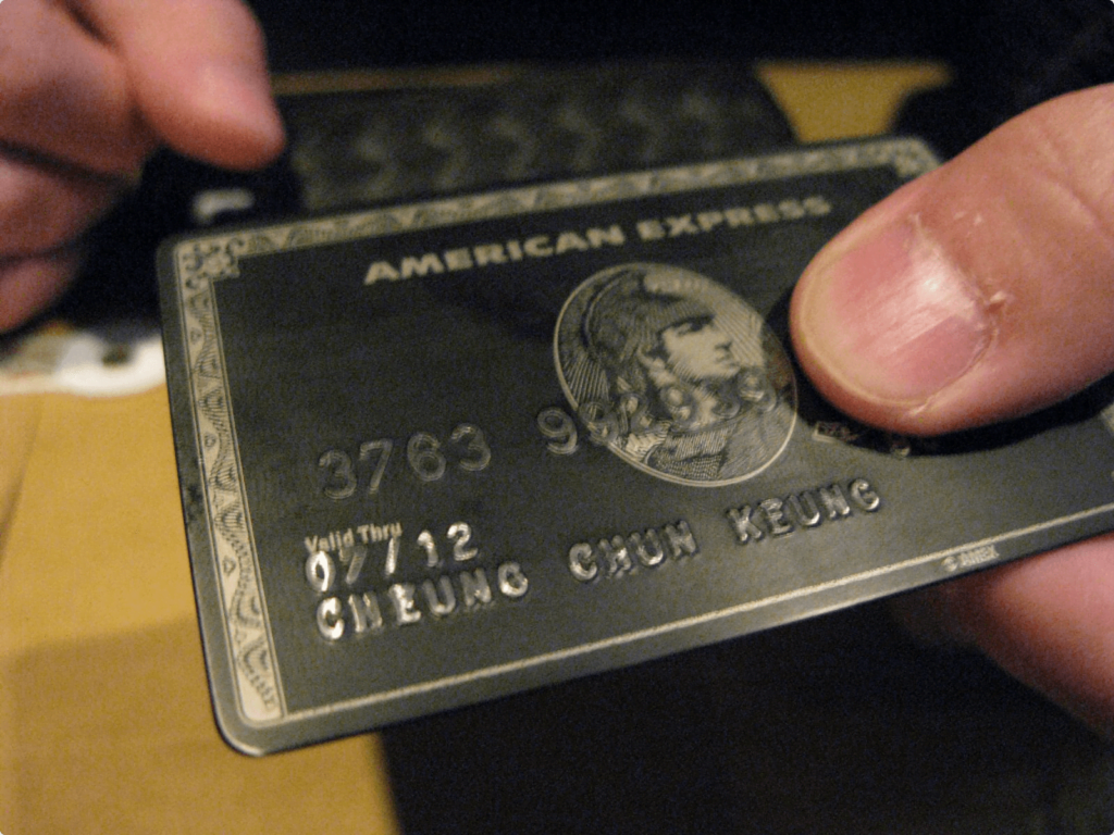American express premium positioning example