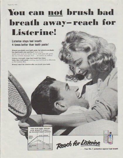 Listerine ad campaign