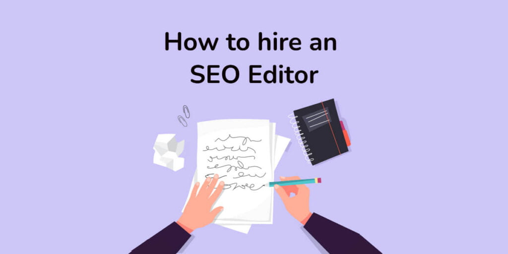 What is an SEO editor
