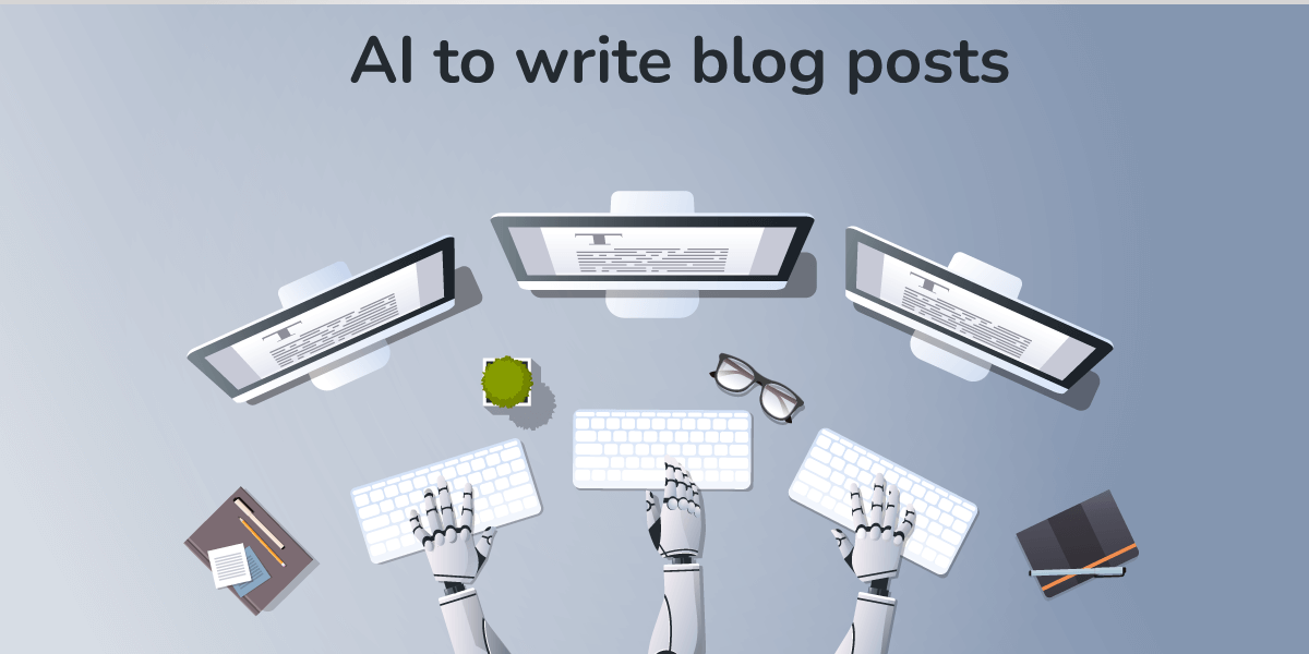 Artificial intelligence blog writing